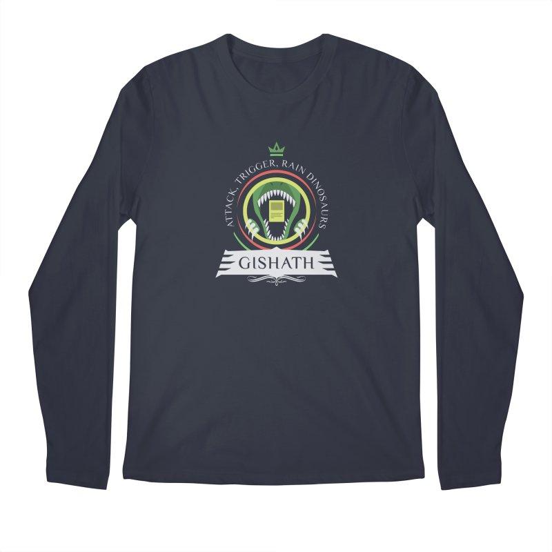 Commander Gishath Men's Regular Longsleeve T-Shirt by Epic Upgrades