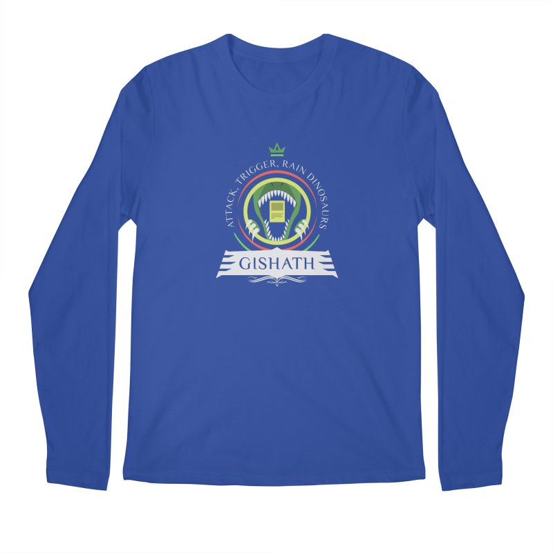 Commander Gishath Men's Regular Longsleeve T-Shirt by Epic Upgrades