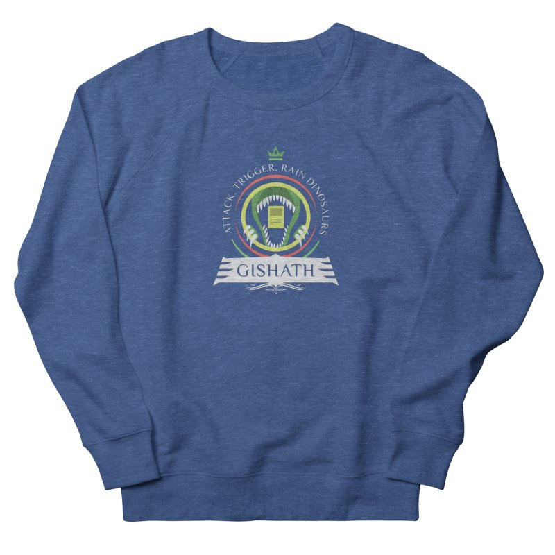 Commander Gishath Men's French Terry Sweatshirt by Epic Upgrades