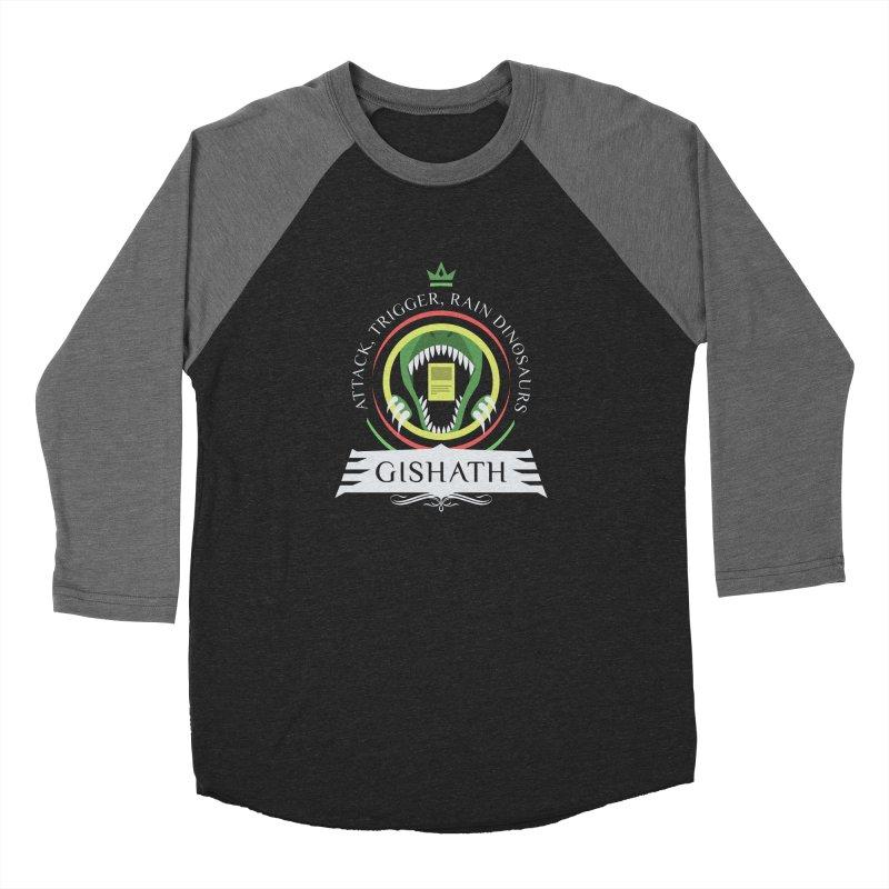 Commander Gishath Men's Baseball Triblend Longsleeve T-Shirt by Epic Upgrades