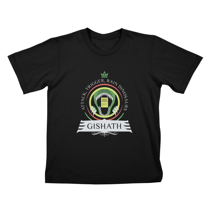 Commander Gishath Kids T-Shirt by Epic Upgrades