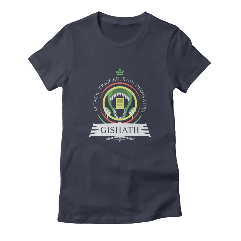 Commander Gishath Women's Fitted T-Shirt by Epic Upgrades
