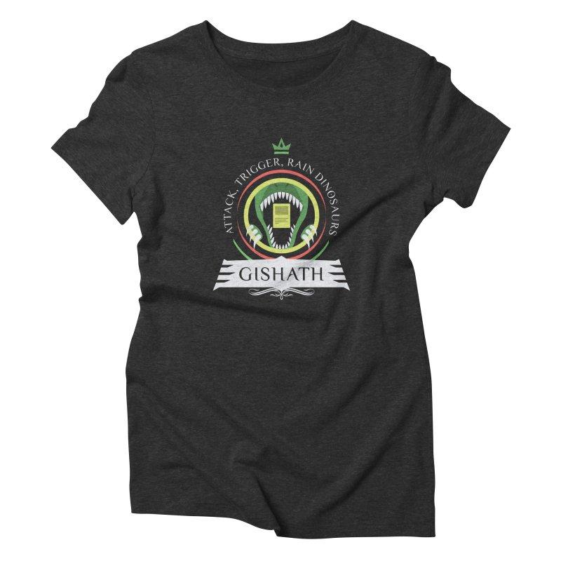 Commander Gishath Women's Triblend T-Shirt by Epic Upgrades