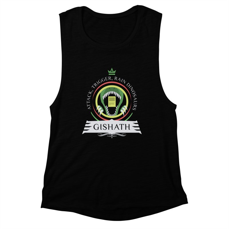 Commander Gishath Women's Muscle Tank by Epic Upgrades