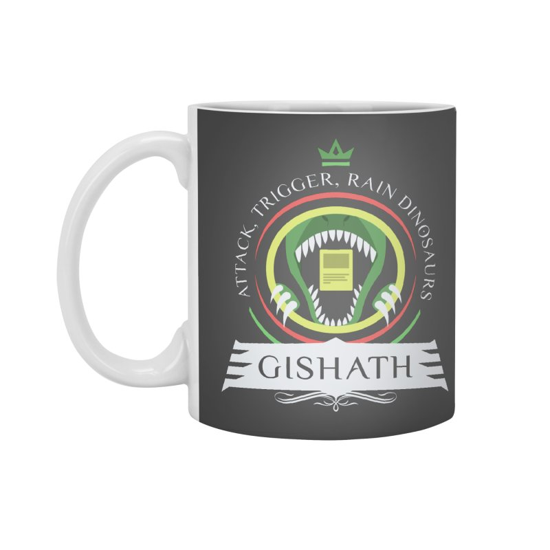 Commander Gishath Accessories Standard Mug by Epic Upgrades