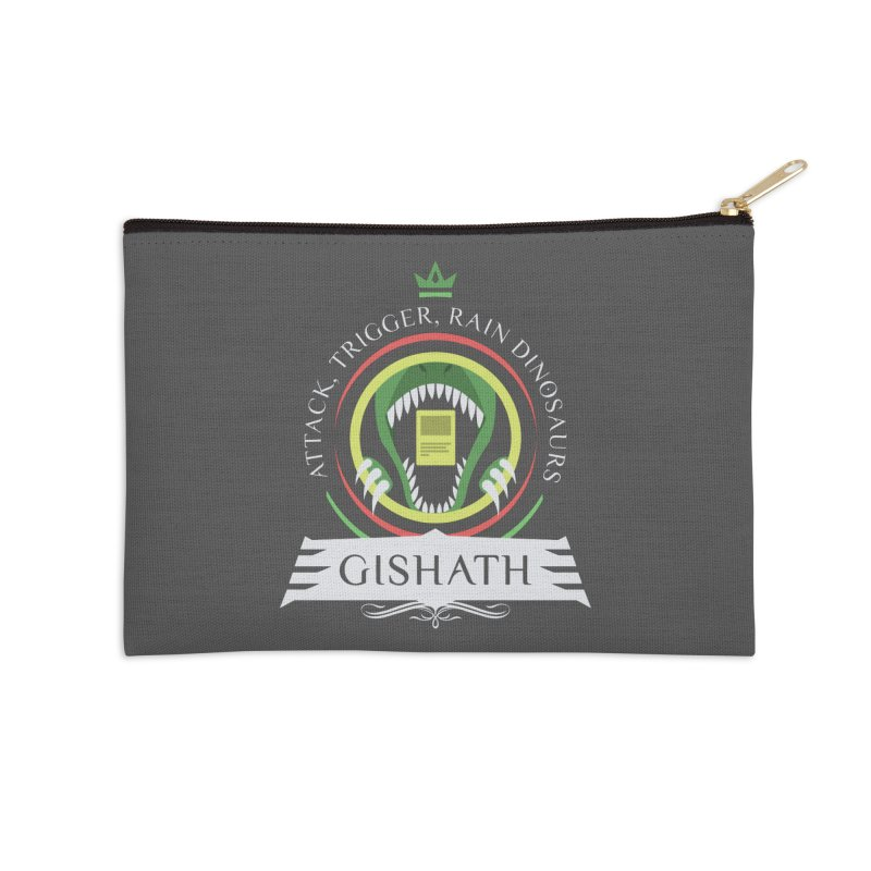 Commander Gishath Accessories Zip Pouch by Epic Upgrades