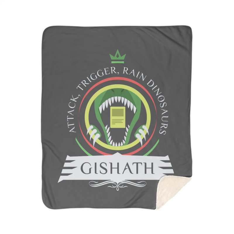 Commander Gishath Home Sherpa Blanket Blanket by Epic Upgrades