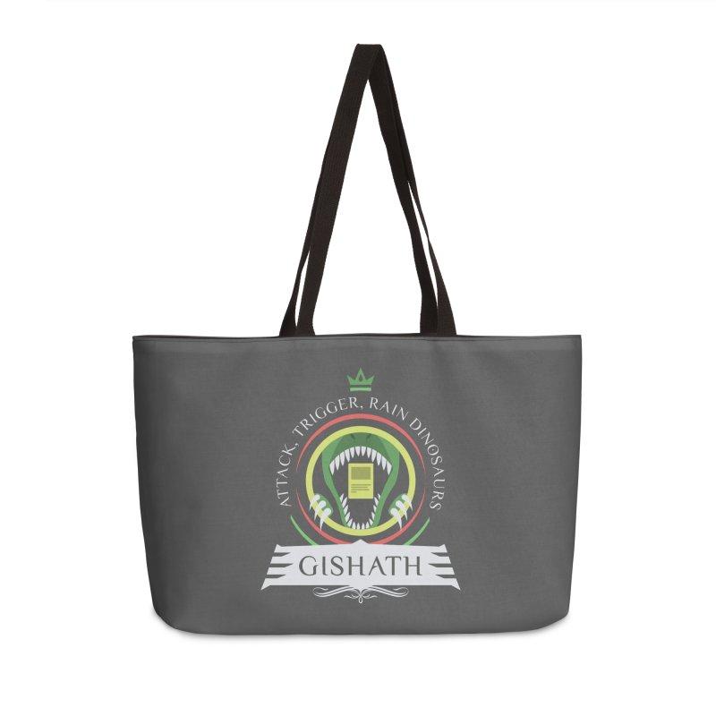 Commander Gishath Accessories Weekender Bag Bag by Epic Upgrades