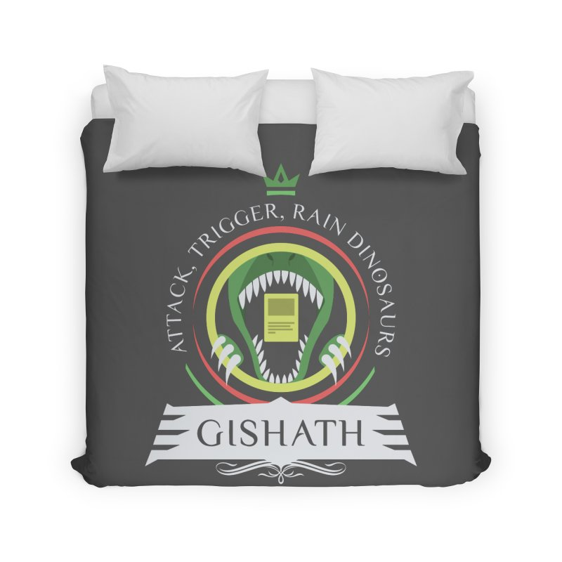 Commander Gishath Home Duvet by Epic Upgrades