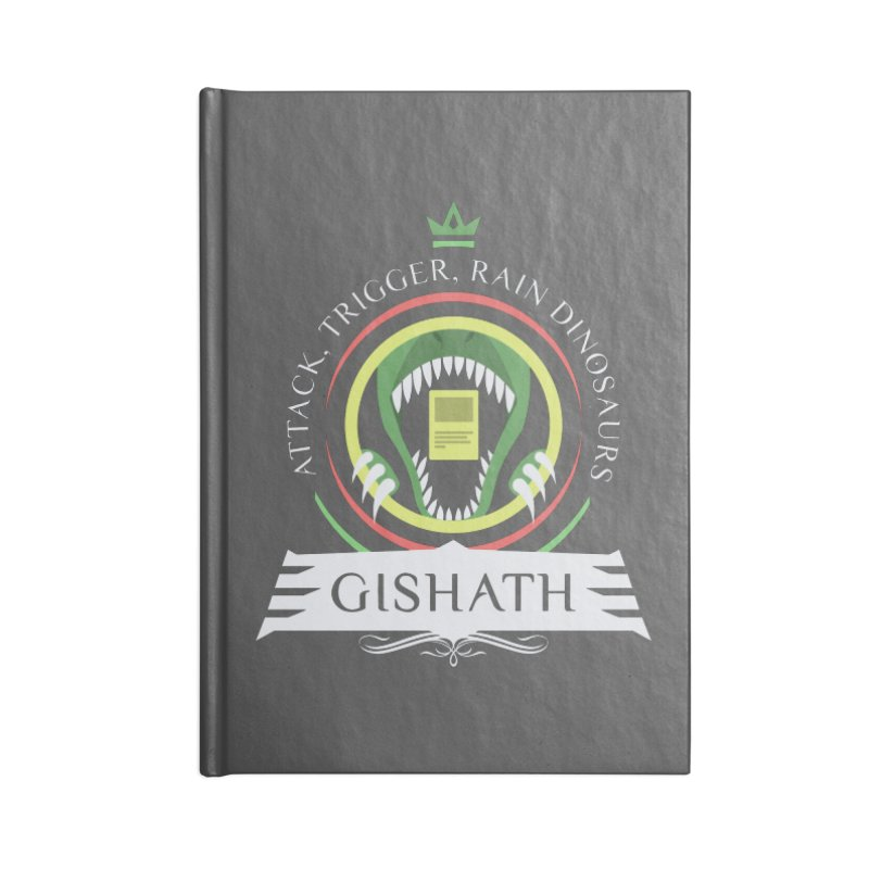 Commander Gishath Accessories Blank Journal Notebook by Epic Upgrades