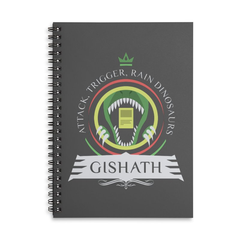Commander Gishath Accessories Lined Spiral Notebook by Epic Upgrades