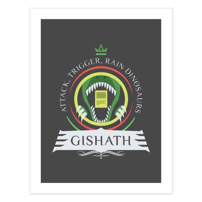 Commander Gishath Home Fine Art Print by Epic Upgrades