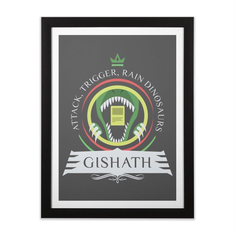 Commander Gishath Home Framed Fine Art Print by Epic Upgrades