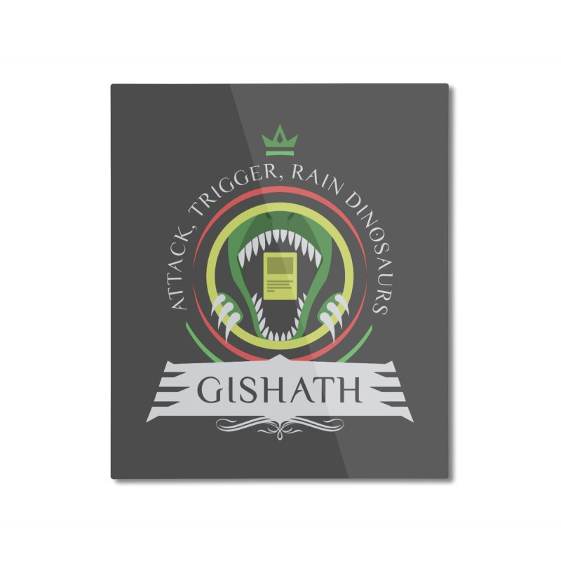 Commander Gishath Home Mounted Aluminum Print by Epic Upgrades