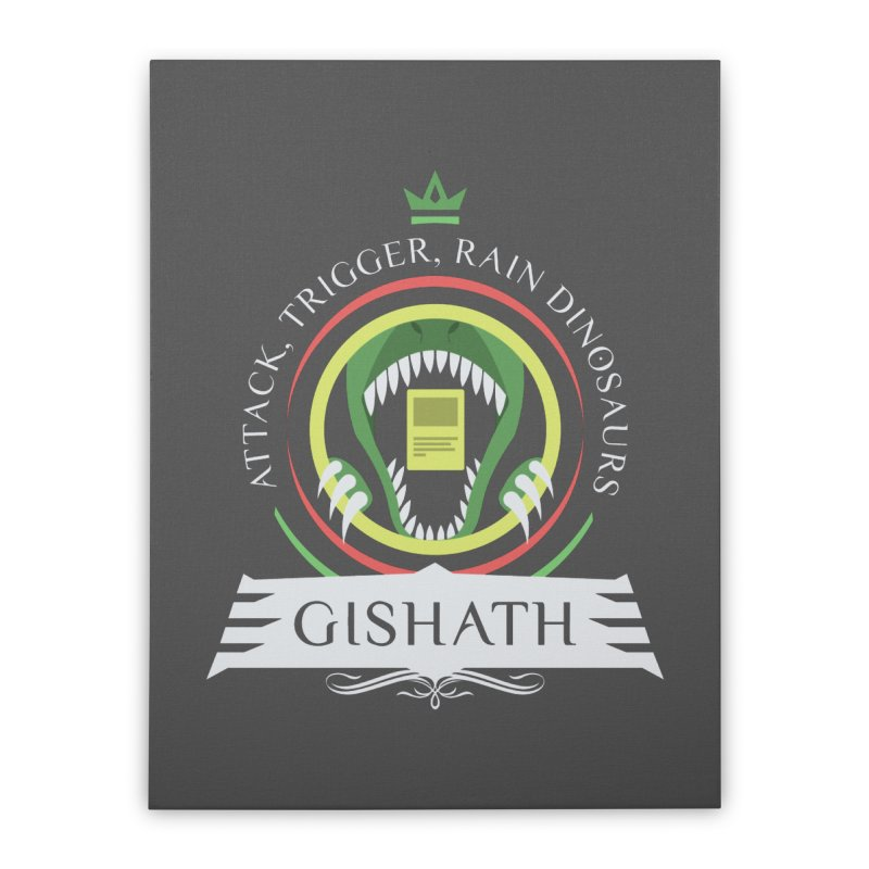 Commander Gishath Home Stretched Canvas by Epic Upgrades