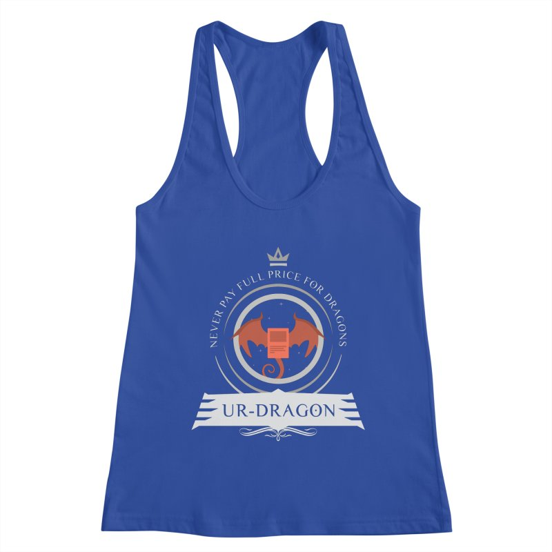 Commander Ur-Dragon Women's Racerback Tank by Epic Upgrades