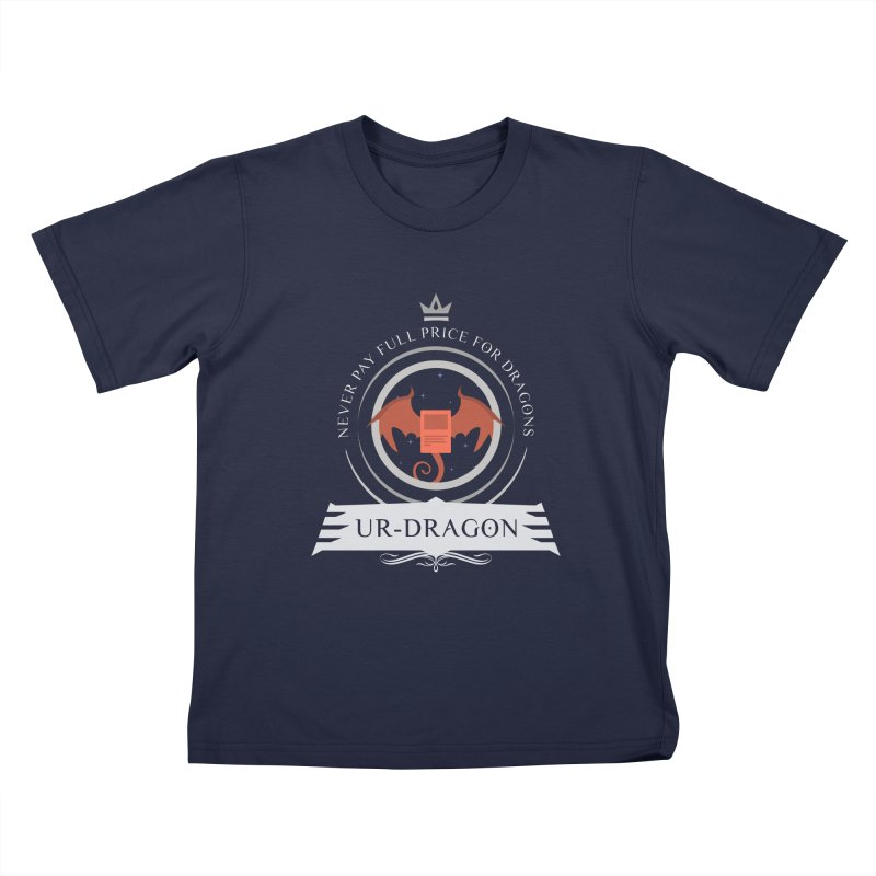 Commander Ur-Dragon Kids T-Shirt by Epic Upgrades