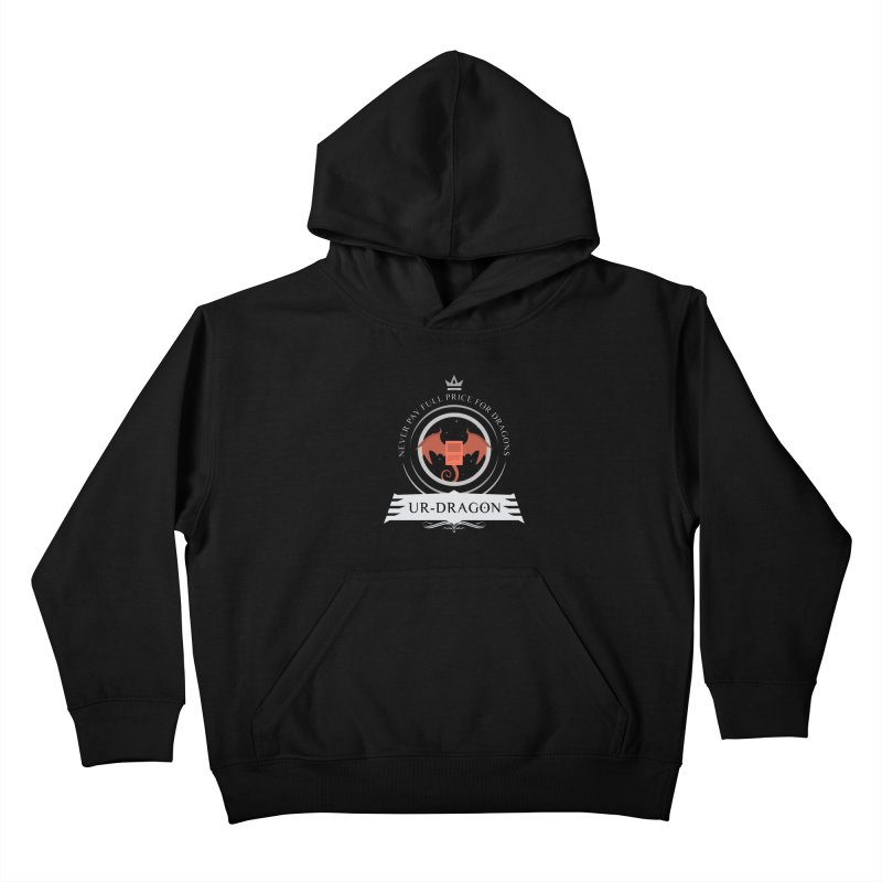 Commander Ur-Dragon Kids Pullover Hoody by Epic Upgrades