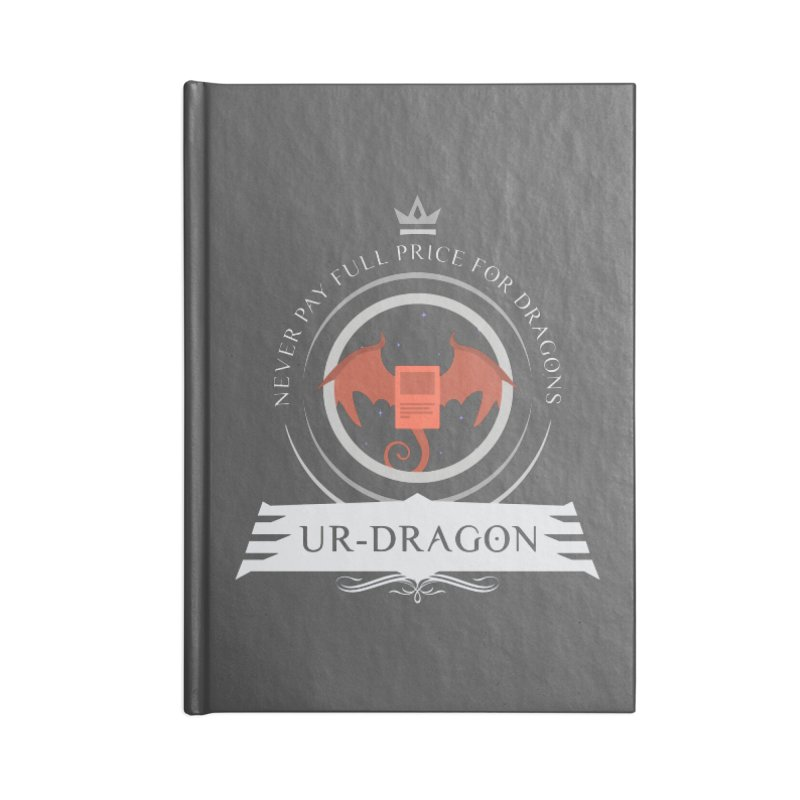 Commander Ur-Dragon Accessories Blank Journal Notebook by Epic Upgrades
