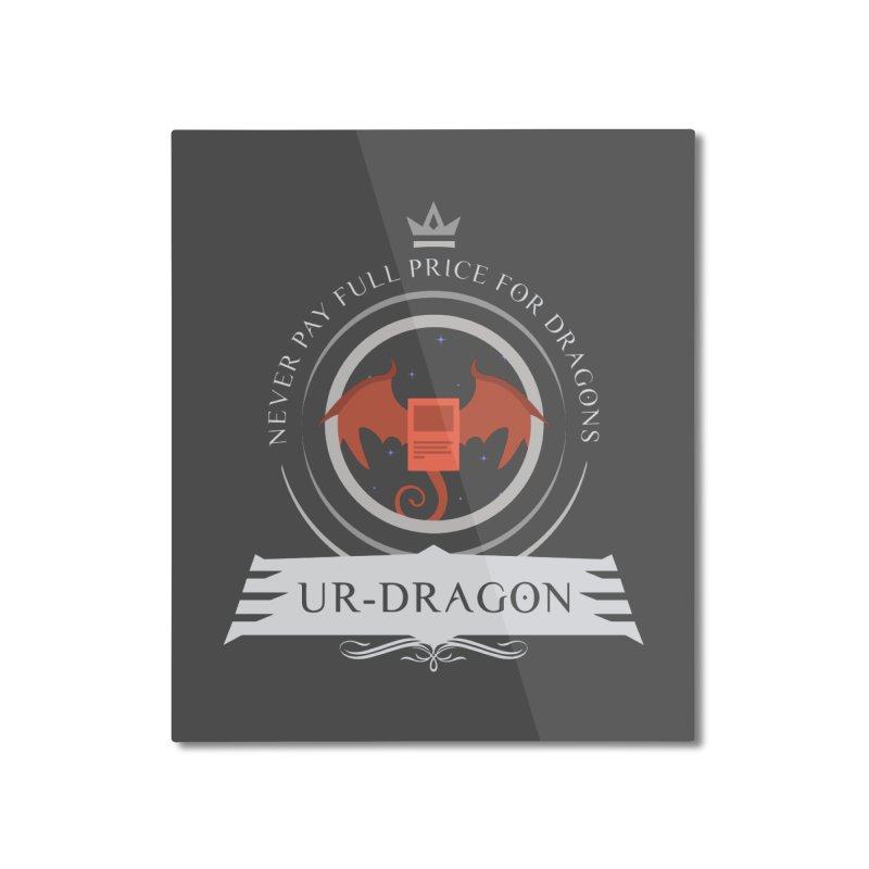 Commander Ur-Dragon Home Mounted Aluminum Print by Epic Upgrades