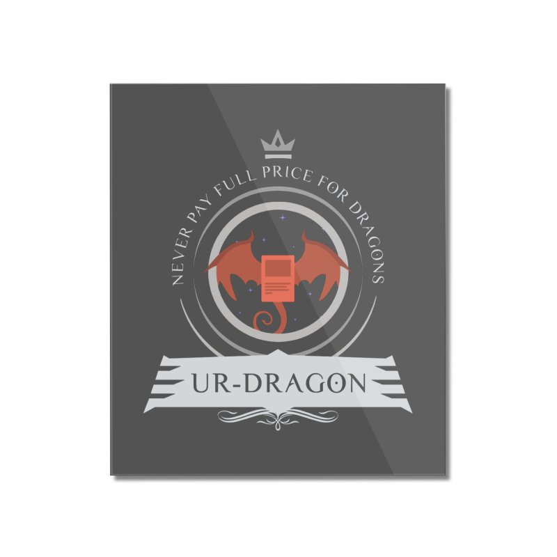 Commander Ur-Dragon Home Mounted Acrylic Print by Epic Upgrades