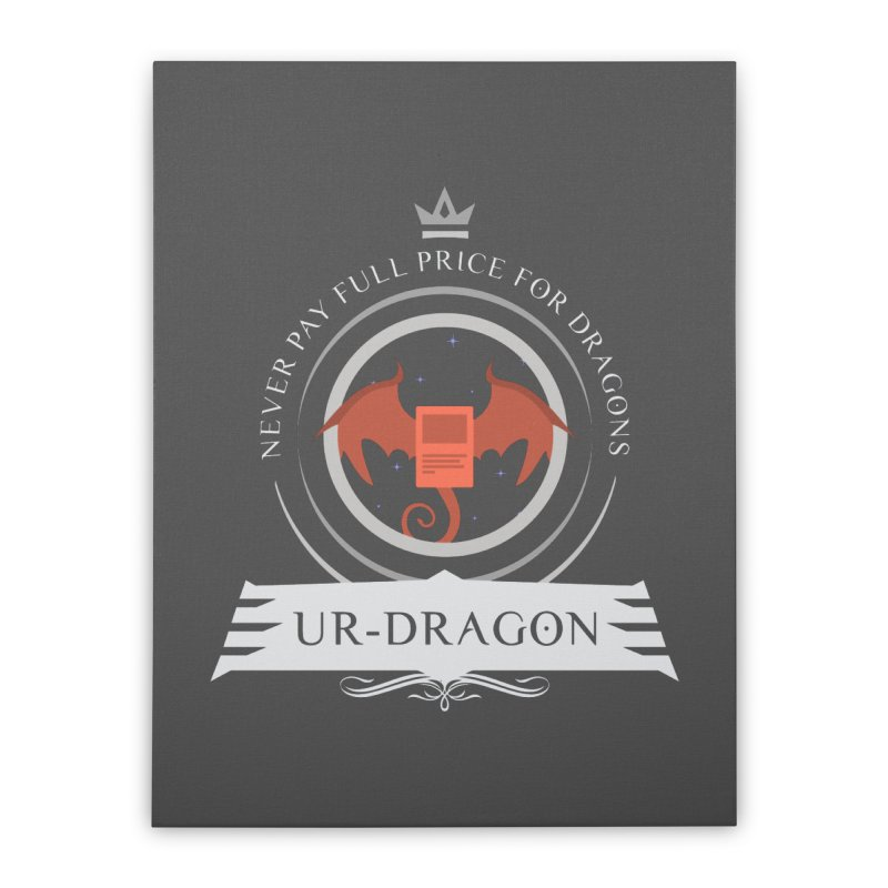 Commander Ur-Dragon Home Stretched Canvas by Epic Upgrades