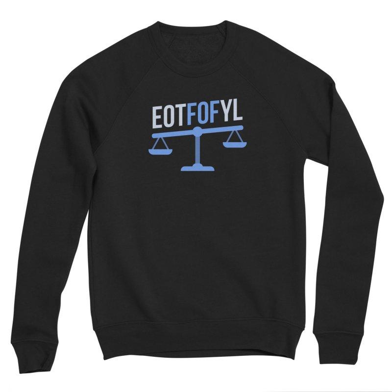 EOTFOFYL - Fact or Fiction Men's Sponge Fleece Sweatshirt by Epic Upgrades