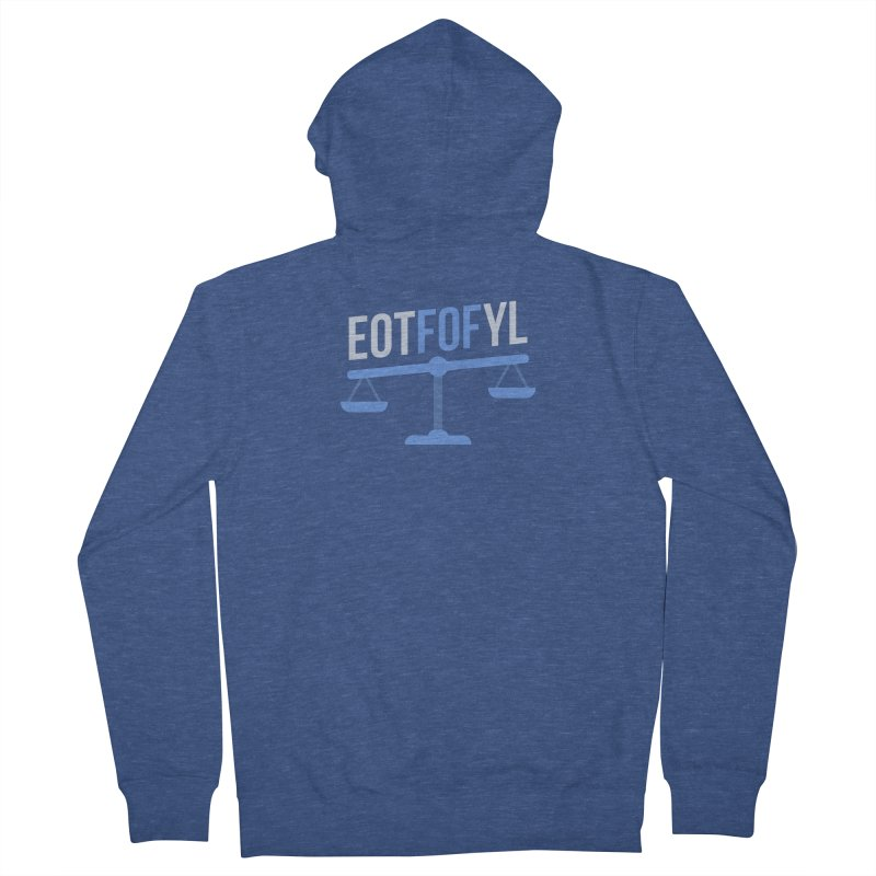 EOTFOFYL - Fact or Fiction Men's Zip-Up Hoody by Epic Upgrades