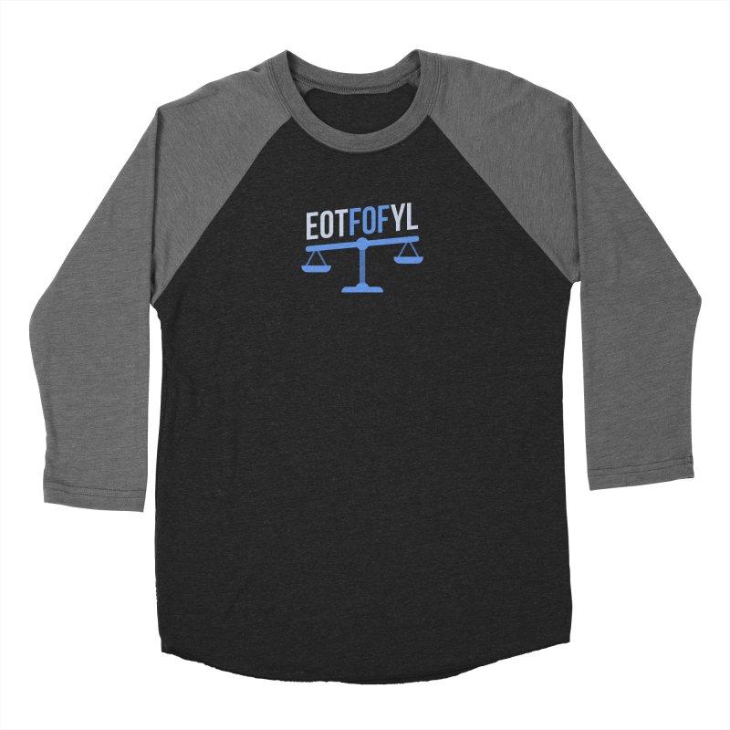 EOTFOFYL - Fact or Fiction Men's Baseball Triblend Longsleeve T-Shirt by Epic Upgrades