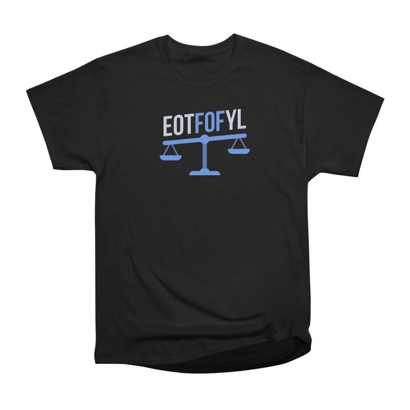EOTFOFYL - Fact or Fiction Women's Heavyweight Unisex T-Shirt by Epic Upgrades