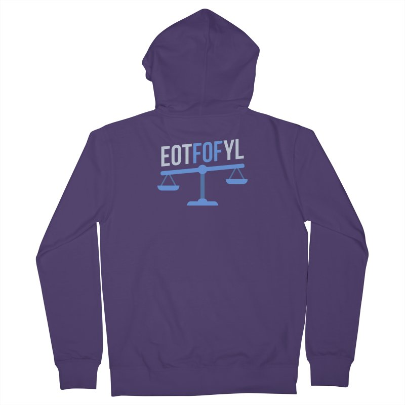EOTFOFYL - Fact or Fiction Women's French Terry Zip-Up Hoody by Epic Upgrades