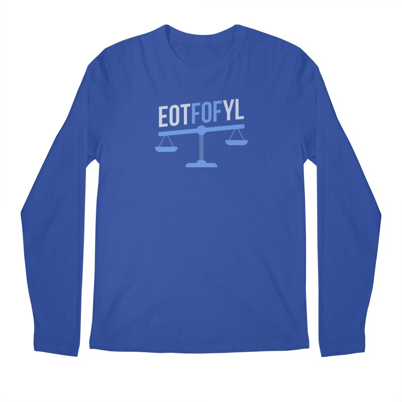 EOTFOFYL - Fact or Fiction Men's Regular Longsleeve T-Shirt by Epic Upgrades