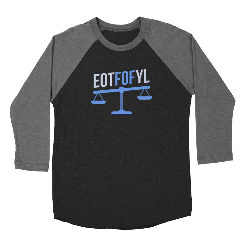 EOTFOFYL - Fact or Fiction Men's Baseball Triblend Longsleeve T-Shirt by Epic Upgrades