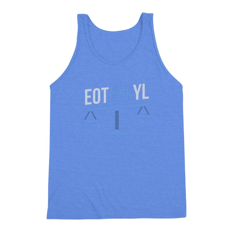 EOTFOFYL - Fact or Fiction Men's Triblend Tank by Epic Upgrades
