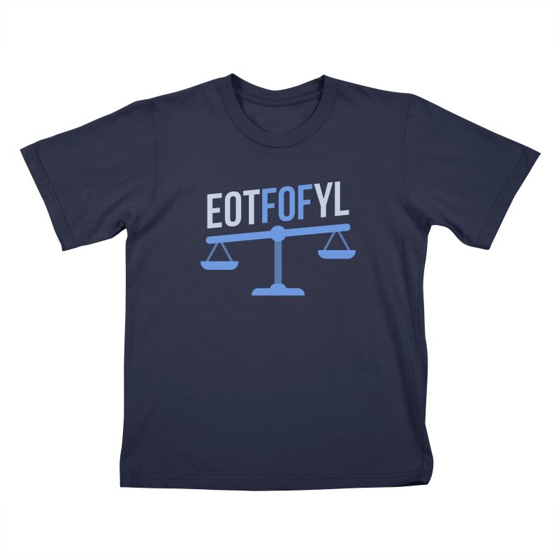 EOTFOFYL - Fact or Fiction Kids T-Shirt by Epic Upgrades