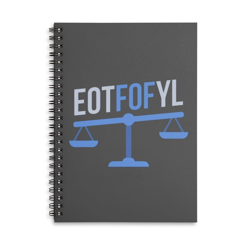 EOTFOFYL - Fact or Fiction Accessories Lined Spiral Notebook by Epic Upgrades