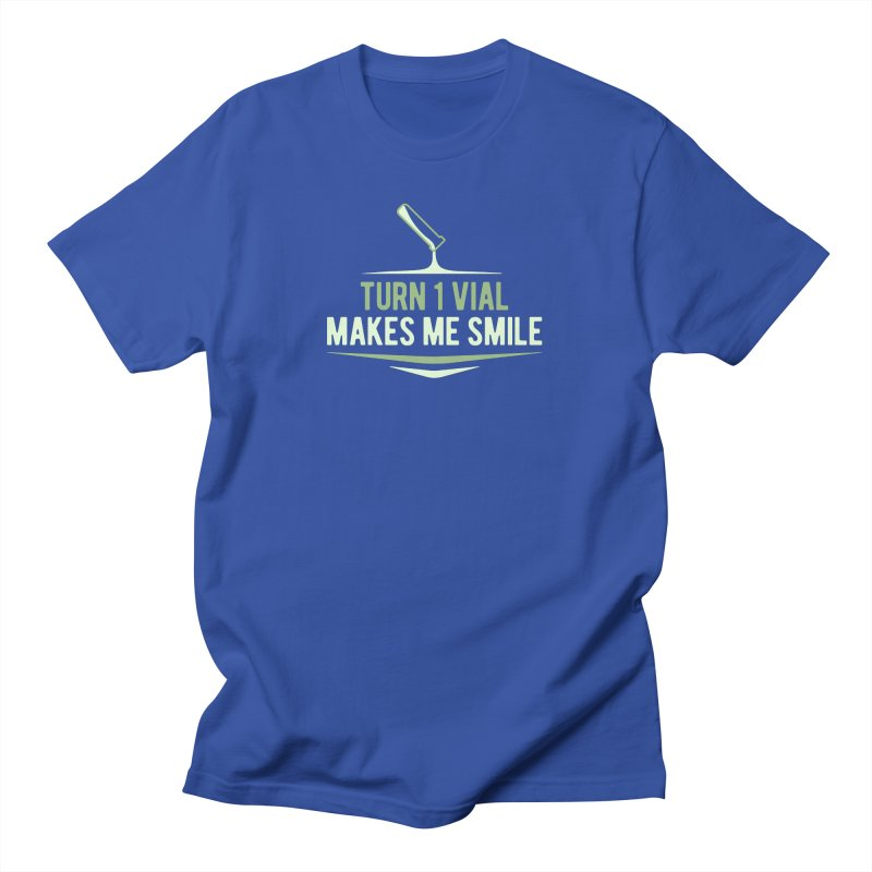Turn One Vial Makes Me Smile Men's T-Shirt by Epic Upgrades