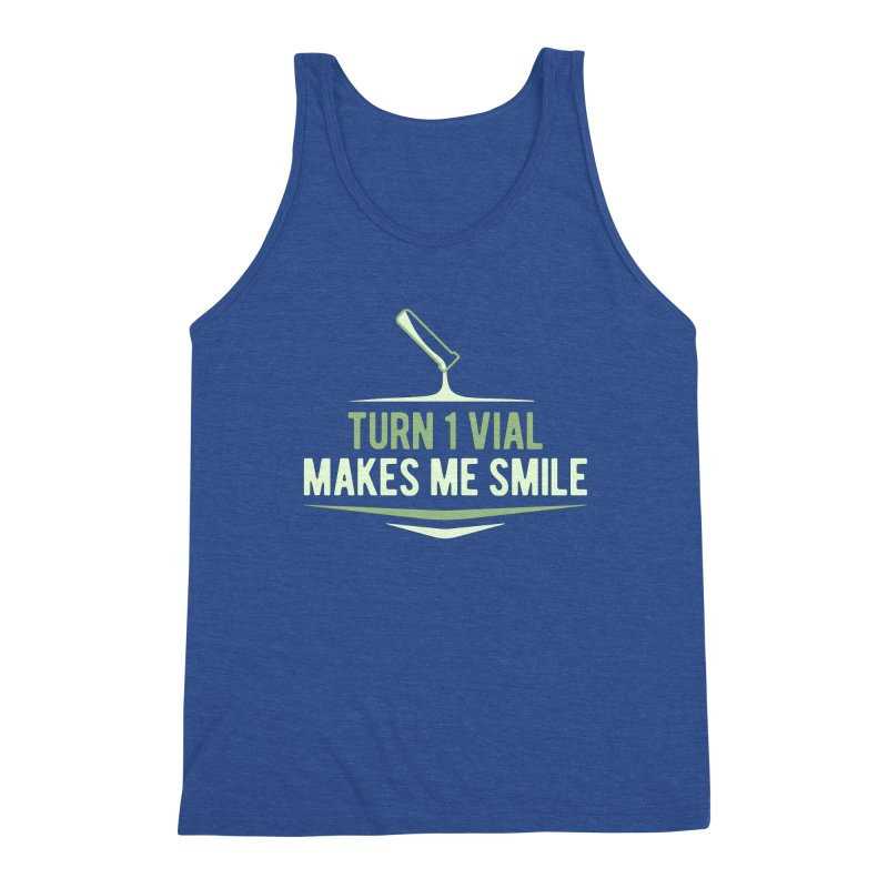 Turn One Vial Makes Me Smile Men's Tank by Epic Upgrades