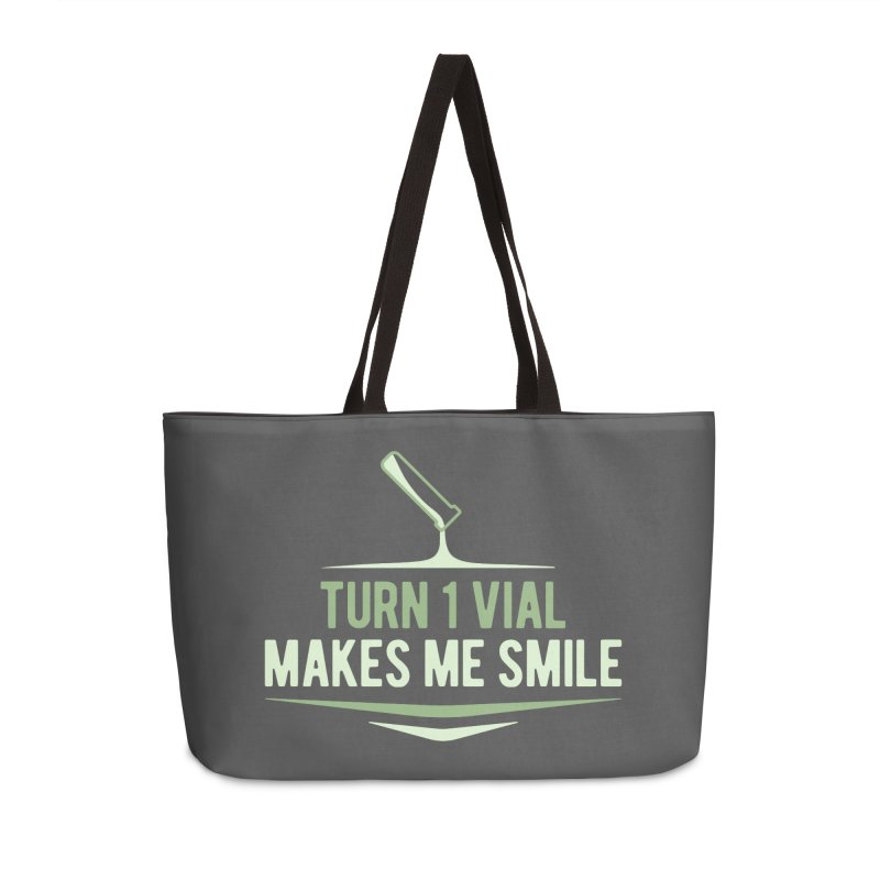Turn One Vial Makes Me Smile Accessories Bag by Epic Upgrades