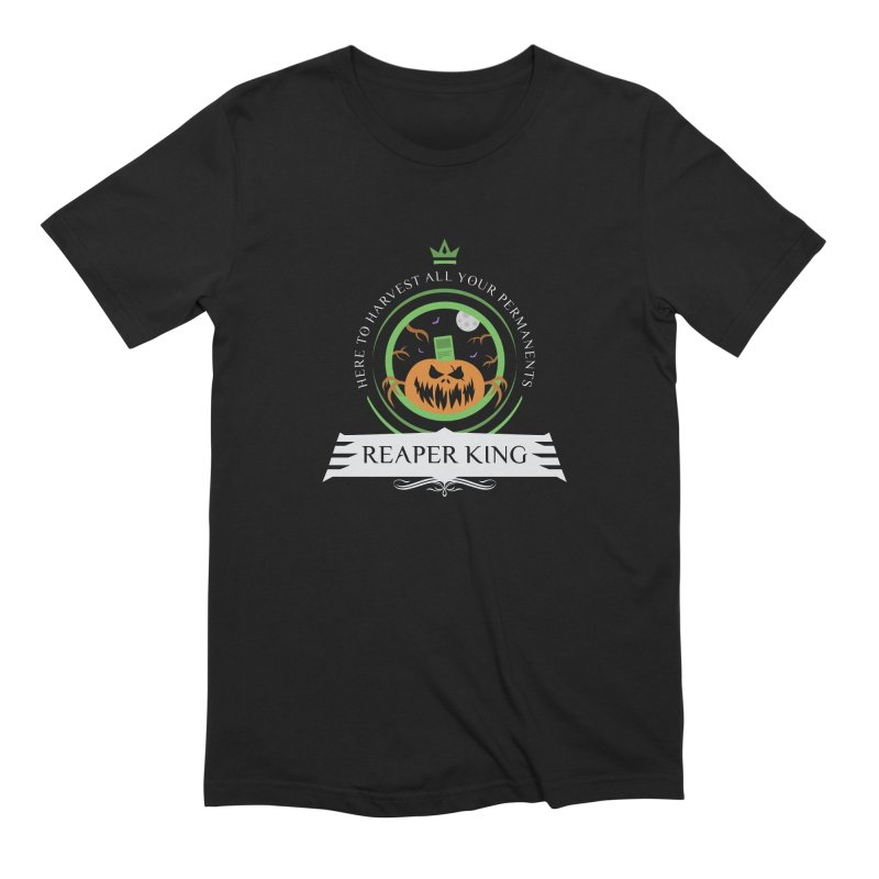 Commander Reaper King Men's Extra Soft T-Shirt by Epic Upgrades