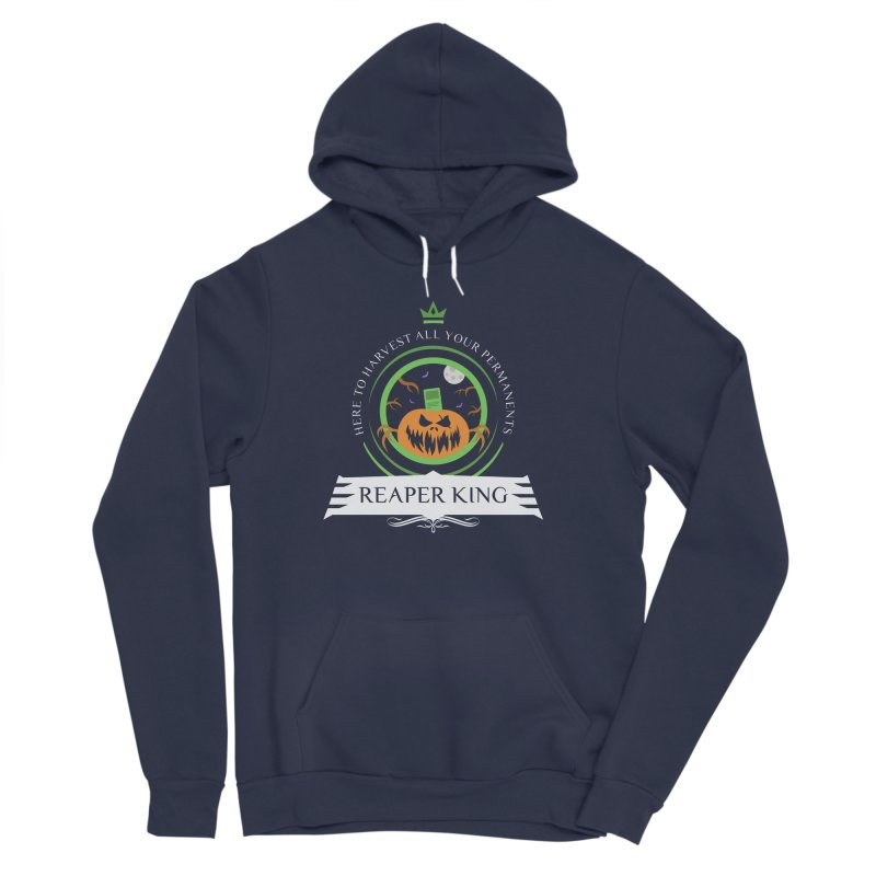 Commander Reaper King Women's Sponge Fleece Pullover Hoody by Epic Upgrades