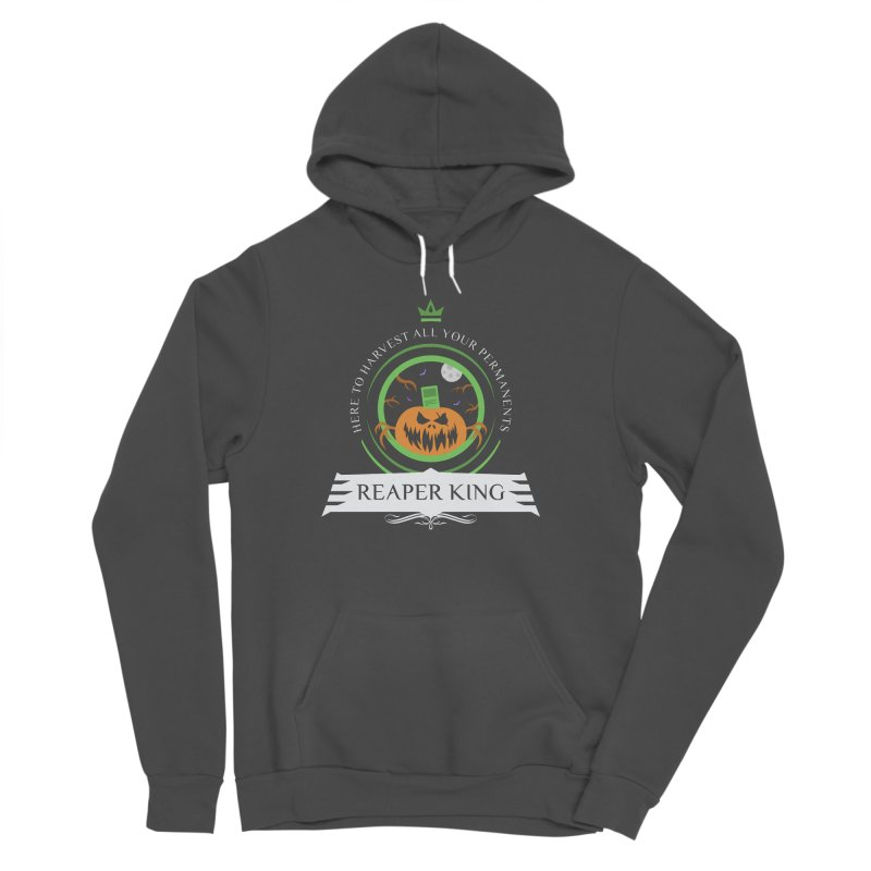 Commander Reaper King Men's Sponge Fleece Pullover Hoody by Epic Upgrades