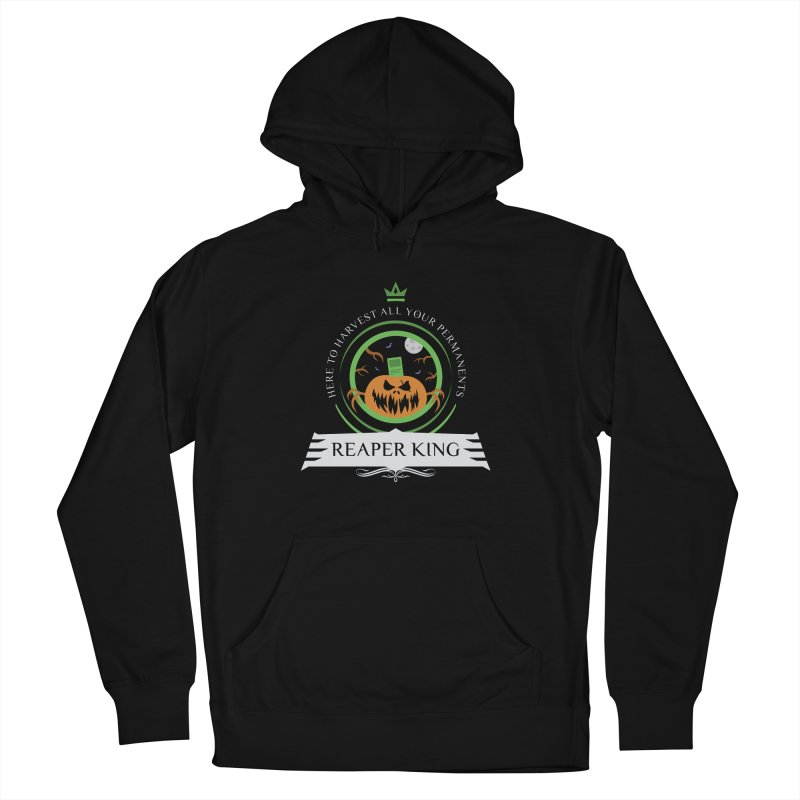 Commander Reaper King Women's French Terry Pullover Hoody by Epic Upgrades