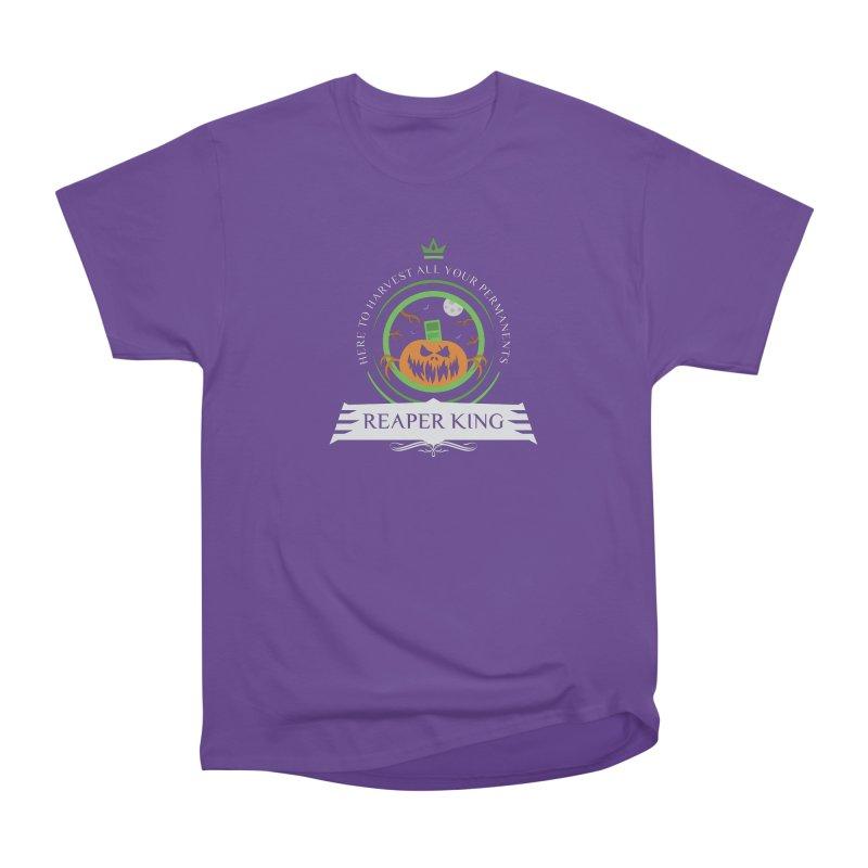 Commander Reaper King Women's Heavyweight Unisex T-Shirt by Epic Upgrades