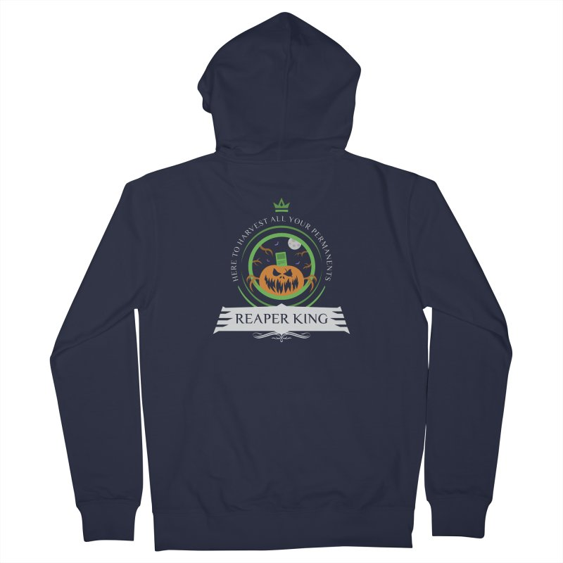 Commander Reaper King Men's French Terry Zip-Up Hoody by Epic Upgrades