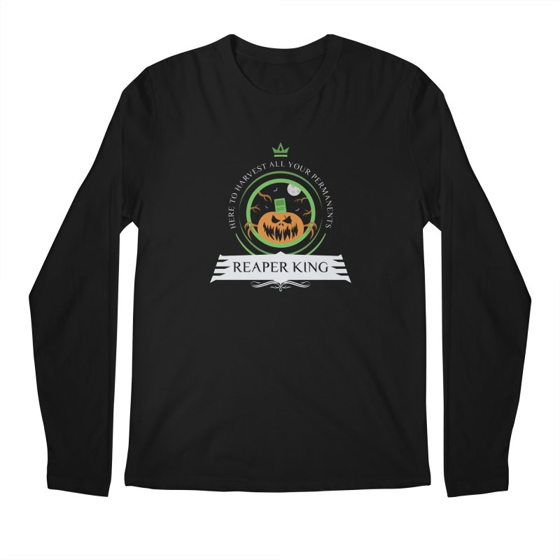 Commander Reaper King Men's Regular Longsleeve T-Shirt by Epic Upgrades