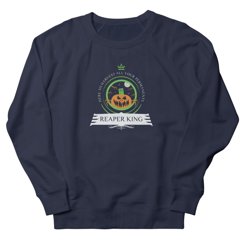 Commander Reaper King Women's French Terry Sweatshirt by Epic Upgrades