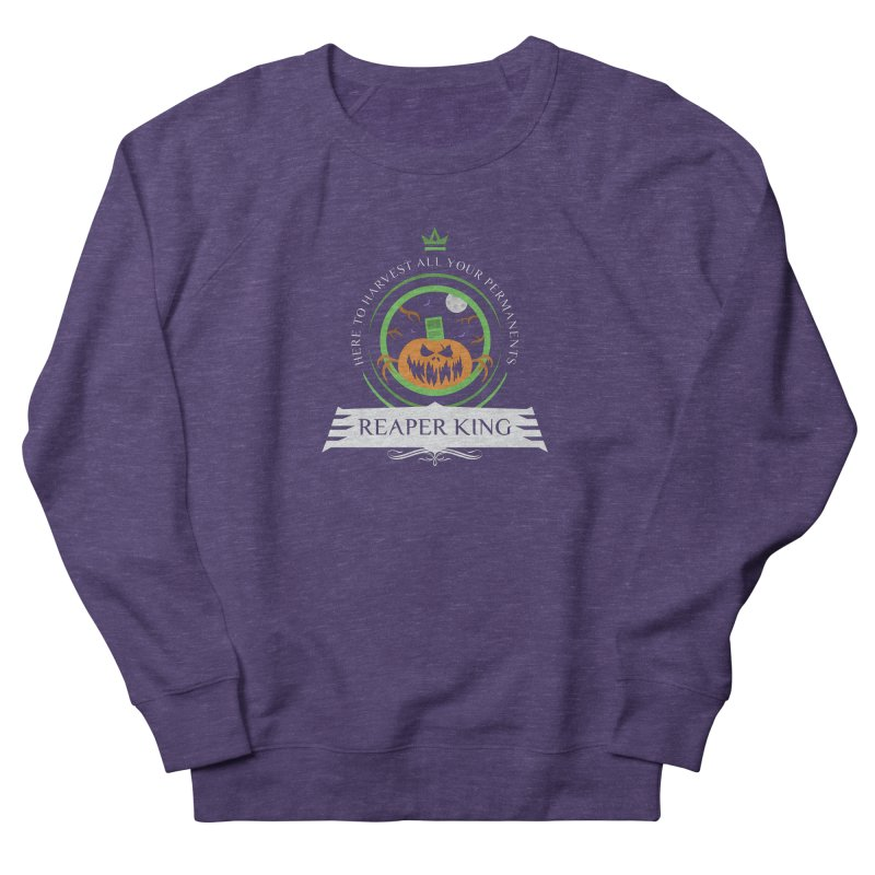 Commander Reaper King Men's French Terry Sweatshirt by Epic Upgrades
