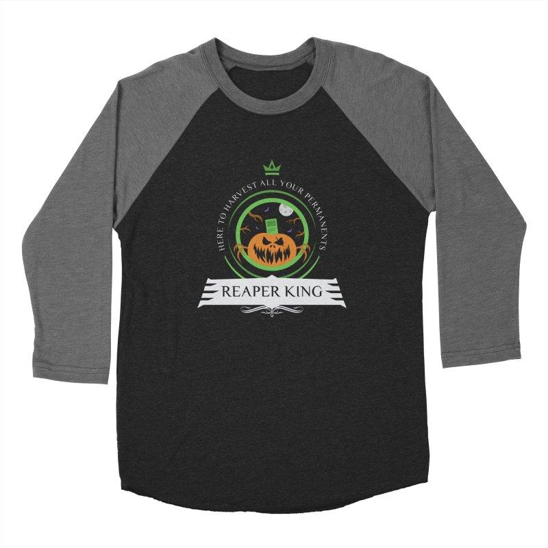 Commander Reaper King Women's Baseball Triblend Longsleeve T-Shirt by Epic Upgrades