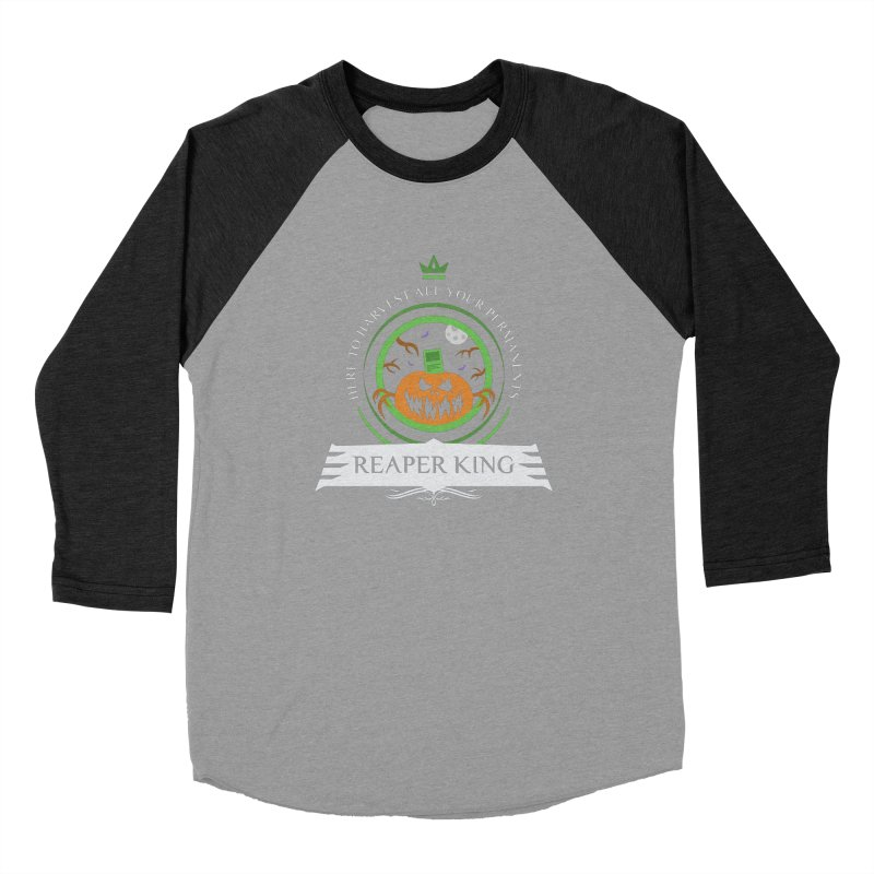 Commander Reaper King Men's Baseball Triblend Longsleeve T-Shirt by Epic Upgrades